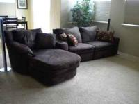 This is a sectional/recliner made by Lane. Original