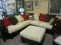 BRAND NEW!!!! 10% off the purchase of this sectional