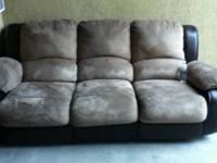 Modern Contemporary Leather Couch For Sale In Mountain