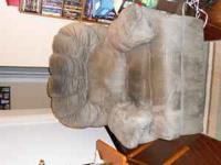 Oversized rocker recliner chair for sale. It is a light