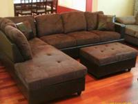 We just purchased this brand new sectional couch for