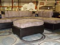 "Gorgeous ""Microfiber"" Sectional couch This item is"