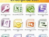 Offering Microsoft Office 2007 Enterprise edition.