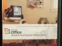 Microsoft Office Student and Teacher Edition 2003 20.00