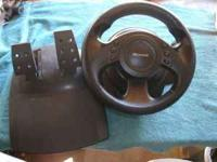 Microsoft Sidewinder- Precision Racing Wheel. $5Good