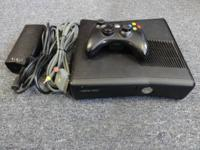Microsoft Xbox360 S Slim 4GB video game system with one