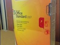Genuine Microsoft Office Standard 2007 Upgrade with