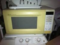 need to get ride of some stuff. microwave(25.00) 19in