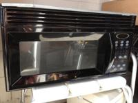 Microwave Maytag 1 5 Cu Ft Black Over Stove Model