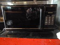 Sears Kenmore microwave Inside 11 ? X 11 ? by 7 ? used