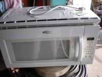 good made use of Whirlpool microwave system, huge