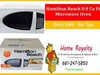 Brand New Microwaves out of box with  minor and major
