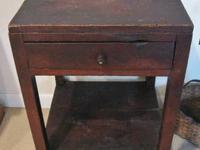 #241F- A beautiful primitive mid 19th century side