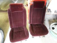 I have  a nice set of mid 80's GM  bucket seats  most