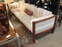 Mid Century Couch Danish Sofa Sale Price $950 Can be