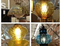 Mid Century Hanging Swag Lights Large selection and
