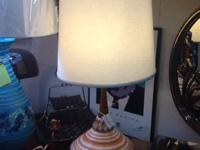 This mid century lamp is prefect for any bedroom or