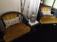 Mid Century modern Chairs $95.00 each (have 3 ). New