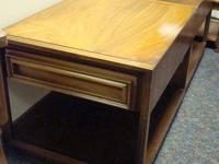 Mid Century Modern - pair of end tables - United