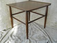 Vintage lounge table made mid 20th century in walnut