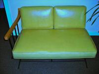 MID-CENTURY-MODERN LOVESEATS (PAIR)  GREAT GIFT for