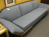 Mid century couch that own 6 foot cushion and 8ft long