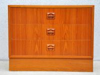 Beautiful Mid Century Danish Modern Teak Nightstand /