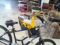 Wee Ride infant bike seat. Mounts to your bike from