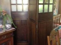 Mid 1800's three section screen in excellent shape.