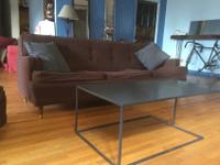 Mid-Century matching couch and chair. These pieces are