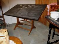 This preparing table can be seen at Mossy Oaks Antique