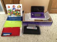 Includes: -Midnight Purple 3DS System -Original 3DS box