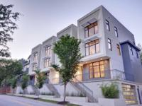 Modern, end-unit townhome located in the heart of