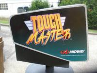 THIS IS A MIDWAY TOUCH GAME THAT HAS A MONITOR THAT IS