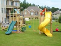 Description Play & Discover a Mighty Swings Playset or