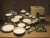 I have a 46 piece Mikasa Arabella tableware set for
