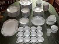 Mikasa Fine China Dana Complete Dinnerware Sets Made In An For Port Jervis New York Clified Americanlisted
