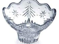 Mikasa Glass Footed Bowl - NEW in box. Get ready for