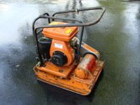 There are two Mikasa plate compactors model #MVC-110