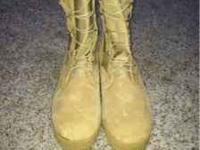 $50 FIRM. No lowballers. Wellco Size 11 Tan Combat