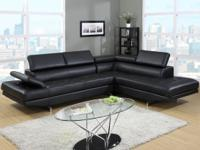 Milan Sectional Quality construction. Modern and