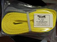"Mile Pen 3""x30ft Yellow tow Band. In Stock.  Brand Mile"