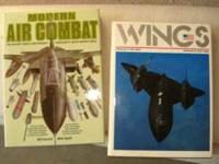 Military/ Aviation books. Some nice large books in good