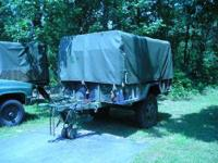 M105 MLITARY CARGO TRAILER ( EXCELLENT CONDITION) THIS