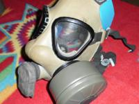 I HAVE SEVERAL BRAND NEW MILITARY GAS MASKS FOR SALE,