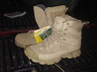 The brand new Gor-tex Boots are size 9. Armour boots