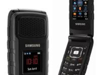 Military grade Samsung Rugby 2 (AT&T) flip phone. The