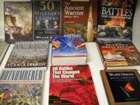 Several Military History books in exceptional