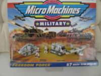 "Micro Machine Military ""freedom force"" #7 1998 issue in"