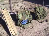 PRICE REDUCED TO $40 each 2 Large military alice packs,